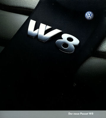 VW Passat W 8 Prospekt 2002