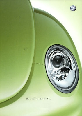 VW New Beetle Prospekt 2003