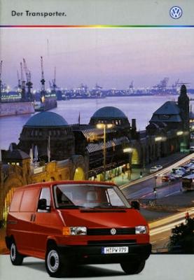 VW T 4 Transporter Prospekt 1999