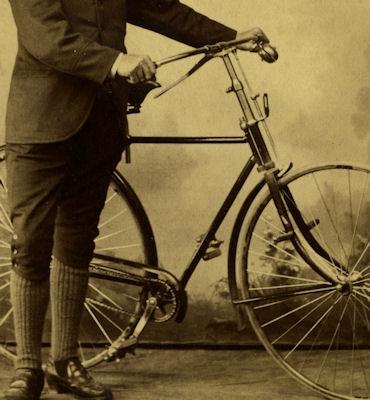 Foto Fahrrad ca. 1900 1