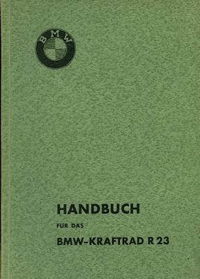 BMW R 23 Bedienungsanleitung 5.1938