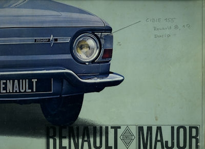 Renault R 8 Major Prospekt 1964/65