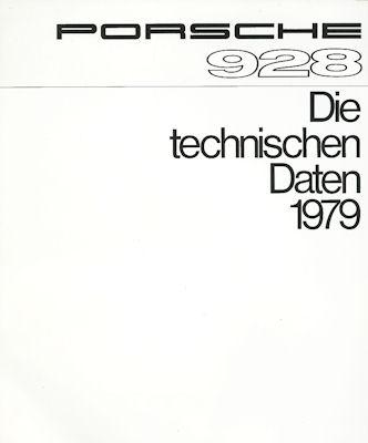 Porsche 928 Technische Daten 1979