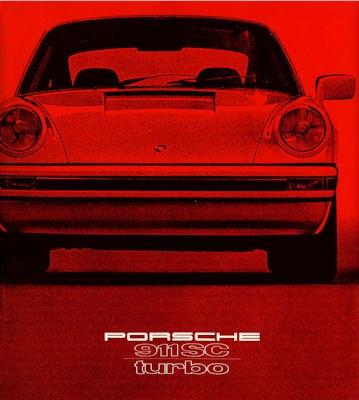 Porsche 911 SC Turbo Prospekt 1979