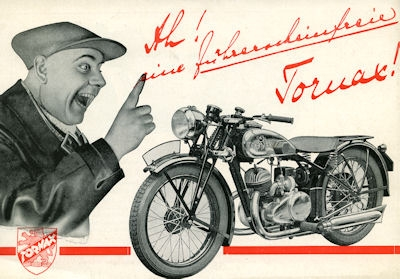 Tornax K 20 Prospekt 1930er Jahre