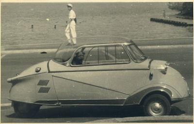 Foto Messerschmitt 1950er Jahre