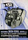 NSU 201 OSL Prospekt 1935