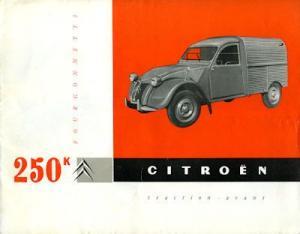 Citroen Fourgonnette Prospekt 9.1959 f