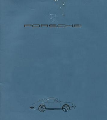 Porsche 911 Prospekt 7.1983