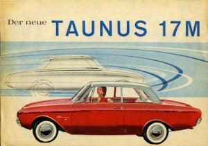 Ford Taunus 17 M P 3 Prospekt 1960