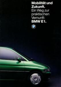 BMW E 1 Prospekt 1994