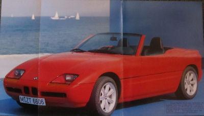 BMW Z 1 Plakat 1988
