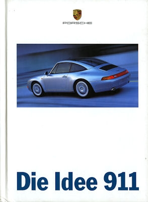 Porsche 911 Prospekt 4.1996
