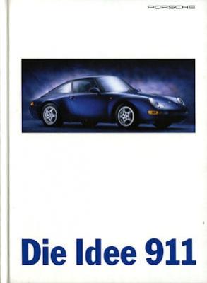 Porsche 911 Prospekt 8.1995