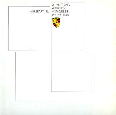 Porsche Werbeartikel Prospekt 7.1988