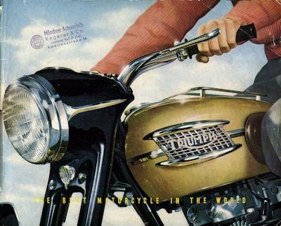 Triumph Programm 1956