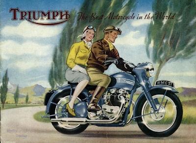 Triumph Programm 1951