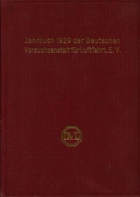 Jahrbuch 1929 der deutschen Versuchsanstalt für Luftfahrt e.V.