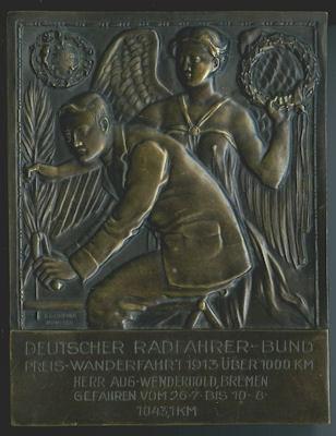 Plakette Deutscher Radfahrer-Bund 1913