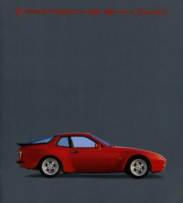 Porsche 944 Turbo Prospekt 2.1985