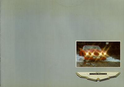 Aston Martin V 8 Programm 1975