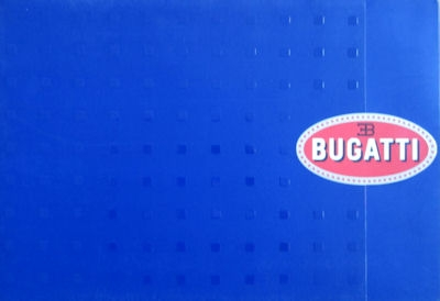 Bugatti Veyron 16.4 Prospekt Mappe 2003 0