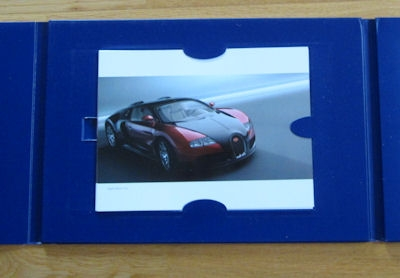 Bugatti Veyron 16.4 Prospekt Mappe 2003 1