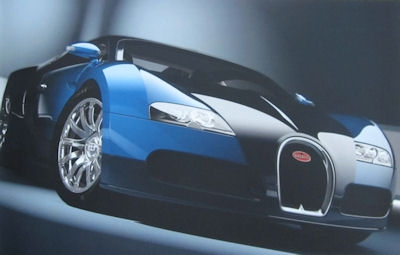 Bugatti Veyron 16.4 Prospekt Mappe 2003 2