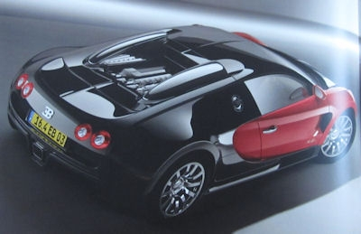 Bugatti Veyron 16.4 Prospekt Mappe 2003 3