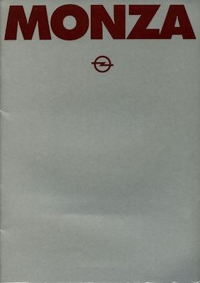Opel Monza Prospekt 1981