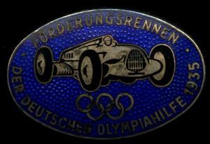 Anstecker Förderungsrennen der Deutschen Olympiahilfe 1935