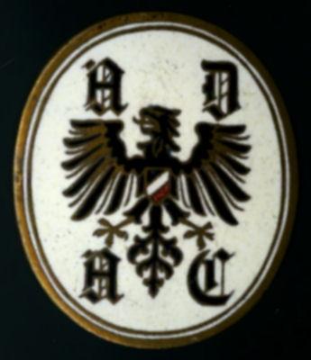 Anstecker ADAC 1920er Jahre