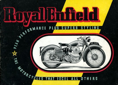 Royal Enfield Programm 1950