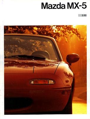 Mazda MX-5 Prospekt 1993