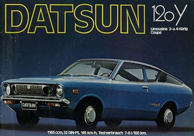 Datsun Cherry 120 Y Prospekt 1976