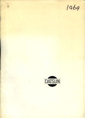 Datsun Pressemappe 1969