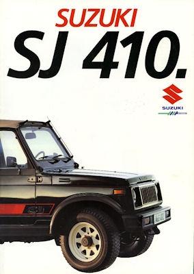 Suzuki TS 80 X Prospekt 1984