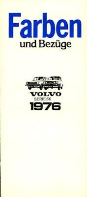 Volvo 66 Farben 1976