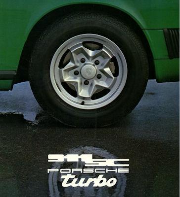 Porsche 911 SC Turbo Prospekt 1978