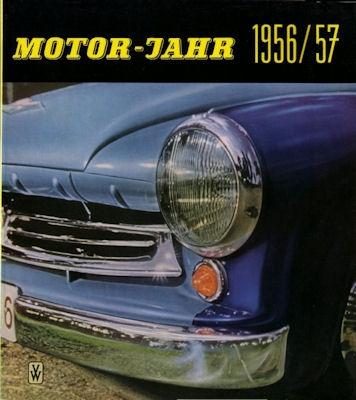 Motor-Jahr DDR-Jahresband 1956/57