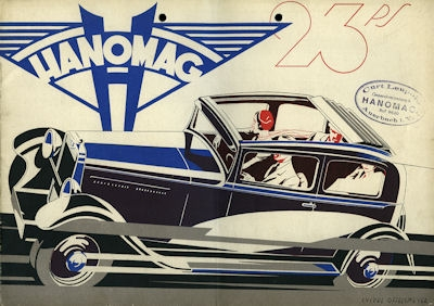 Hanomag 23 PS Prospekt 1932