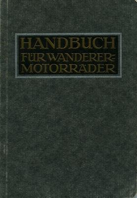 Wanderer Motorräder 2,5 + 4,5 PS Bedienungsanleitung 4.1921