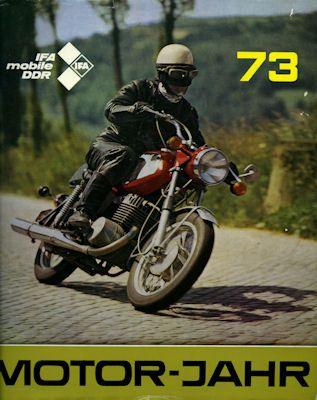 Motor-Jahr DDR-Jahresband 1973