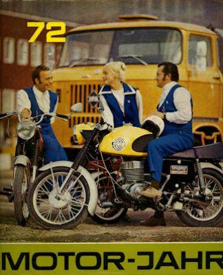 Motor-Jahr DDR-Jahresband 1972
