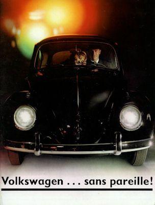 VW Käfer Prospekt ca. 1964 f