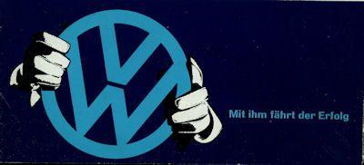 VW Programm ca. 1961