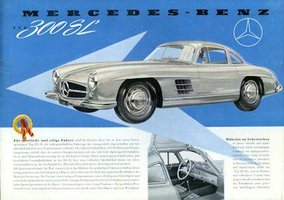 Mercedes-Benz 300 SL Prospekt 1955