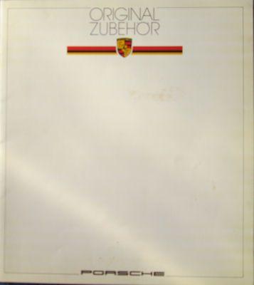 Porsche Original Zubehör Prospekt 1982