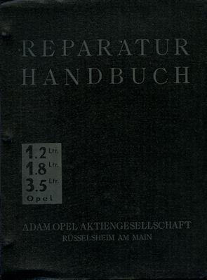Opel 1.2 1.8 3.5 Reparaturanleitung 1931