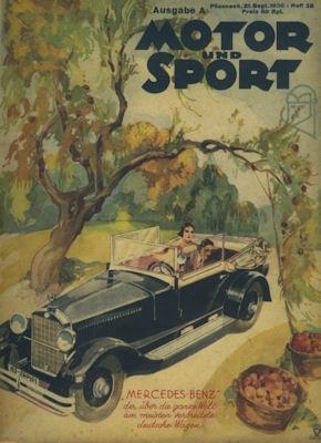 Motor & Sport 1930 Heft 38